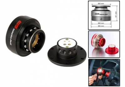 Interior / Safety - Steering Hubs, Hub Adapters, Quick Release - Works Bell - Works Bell Rapfix II (Black)