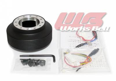 Interior / Safety - Steering Hubs, Hub Adapters, Quick Release - Works Bell - Works Bell Short hub 115S (SUBARU)