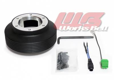 Interior / Safety - Steering Hubs, Hub Adapters, Quick Release - Works Bell - Works Bell Short hub 116S (SUBARU)
