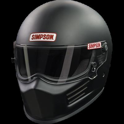 SA2015 Helmets - Composite Helmets - Simpson Performance Products - Simpson BANDIT - SNELL 2015 Black Large