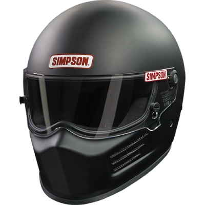 SA2015 Helmets - Composite Helmets - Simpson Performance Products - Simpson BANDIT - SNELL 2015 Black Medium