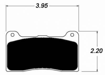 Raybestos ST-43 R303.16 Brake Pads