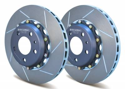 Braking - Brake Rotors Two-piece - Girodisc - Girodisc A1-002 Front 2pc Floating Rotors for Ferrari 348 / 355