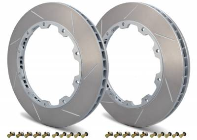 Brake Rotors Two-piece - Two-Piece Front Rotors - Girodisc - Girodisc D1-002 Front 2pc Floating Rotors for Ferrari 348 / 355
