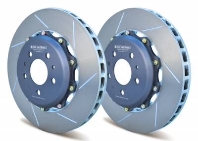 Braking - Brake Rotors Two-piece - Girodisc - Girodisc A1-003 Front 2pc Floating Rotors for Ferrari 456 / 456M / 550 / 575M