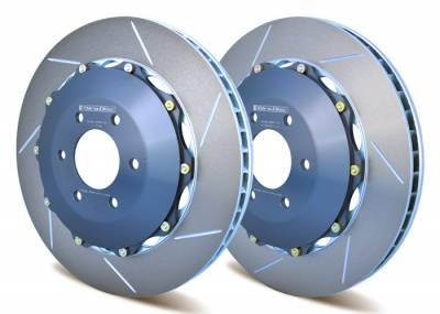 Braking - Brake Rotors Two-piece - Girodisc - Girodisc A1-006 Front 2pc Floating Rotors for Dodge Viper 03+