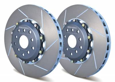 Braking - Brake Rotors Two-piece - Girodisc - Girodisc A1-007 Front 2pc Floating Rotors for 04-Present STi