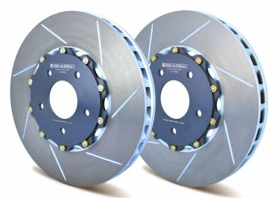 Mitsubishi - Lancer Evolution IX - Girodisc - Girodisc A1-008 2-Piece Replacement Front Rotors for Mitsubishi EVO 6 / 7 / 8 / 9