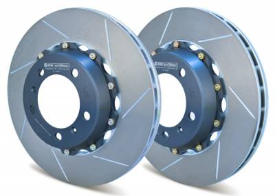 Braking - Brake Rotors Two-piece - Girodisc - Girodisc A1-031 Porsche 987 / 997.1 Front 2pc 340mm Floating Rotors