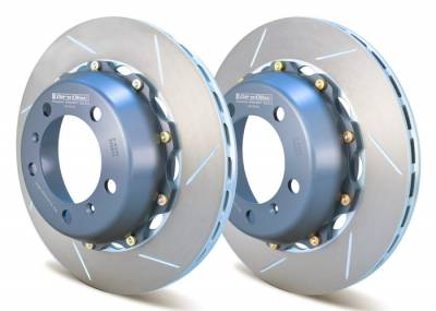 Girodisc - Girodisc A2-033 Porsche 997.1 Rear 2pc 340mm Floating Rotors