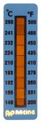 AP Racing - AP Racing Caliper temperature strips 300-500°F - Image 2