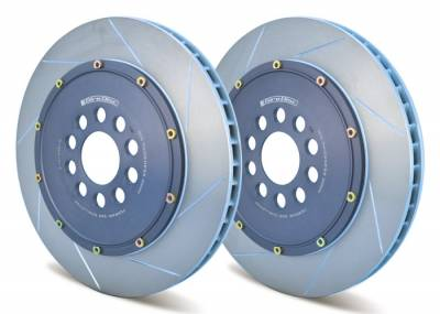 Braking - Brake Rotors Two-piece - Girodisc - Girodisc A1-015 Ferrari 360 Challenge Front 2pc Floating Rotor