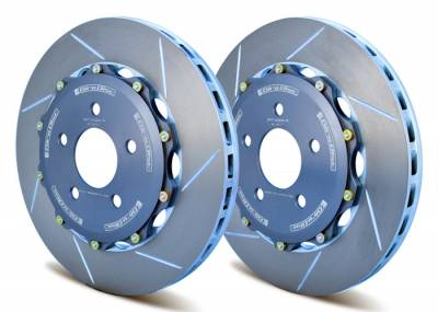 Braking - Brake Rotors Two-piece - Girodisc - Girodisc A1-011 Front 330mm 2-piece Floating Rotor for SN95 Mustang Cobra/Bullit/Mach 1/Cobra R