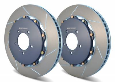 Braking - Brake Rotors Two-piece - Girodisc - Girodisc A1-016 Ferrari F40 Front 2pc Floating Rotors