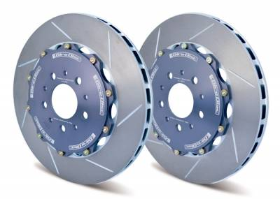 Girodisc - Girodisc A1-166 Front Slotted 2pc Rotor Set for FK8 Type R