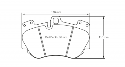 Pagid Racing - Pagid Racing RSC1 (4907-RSC1) Audi R8/A8/S8 + Lamborghini Gallardo/Huracan Ceramic Front Brakes