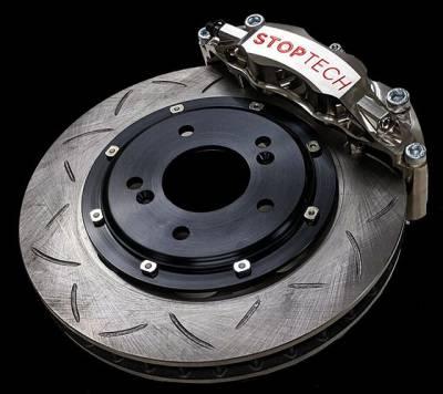 E46 M3 2001-2006 - Big Brake Kits - StopTech - Stoptech WA C43 332x32mm Front Brake Kit BMW E46 M3