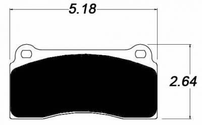 Raybestos ST-43 R780.18 Brake Pads