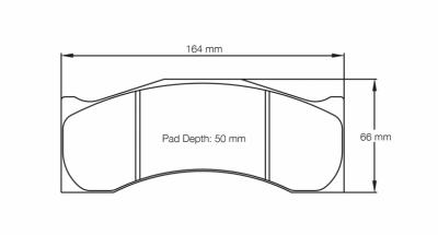 Raybestos ST-43 R602.18 Brake Pads