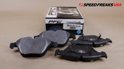 E9X 3 Series 2007-2011 - Brake Pads - Performance Friction  - Performance Friction Front Brake Pads 0918.08.19.44 BMW M3 08-13, 11 1M, 07-09 335