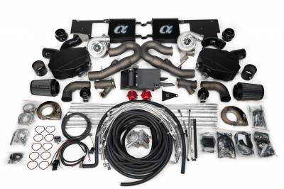 Featured Vehicles - Audi  - AMS  - Alpha Performance 2017-2019 Audi R8 Alpha Twin Turbo Kit