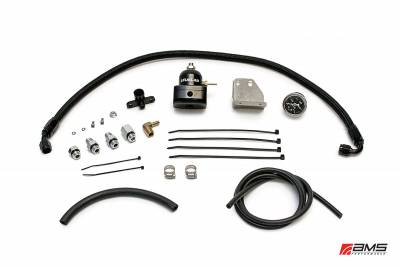 Featured Vehicles - Mitsubishi - AMS EVO X/Ralliart Fuel Pressure Regulator Kit - Black