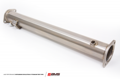 Featured Vehicles - Mitsubishi - AMS Performance EVO X/Ralliart Titanium Test Pipe