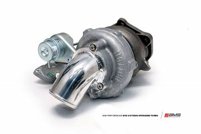 Featured Vehicles - Mitsubishi - AMS EVO X STX500 Turbocharger with Cast inlet