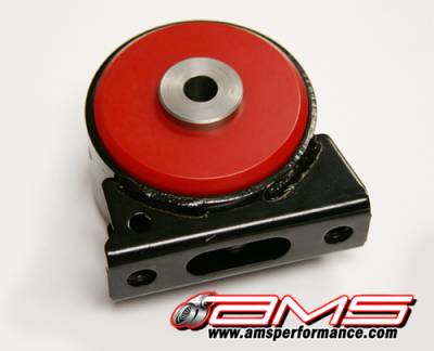 Featured Vehicles - Mitsubishi - AMS EVO X / Ralliart Front Lower Motor mount insert - Red/Race
