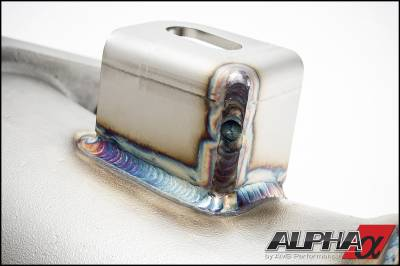 ALPHA GT-R Cast Downpipes With No Cats (Pair)