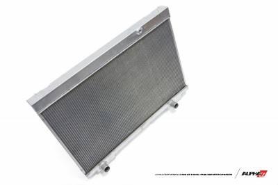 Featured Vehicles - Nissan - ALPHA Performance R35 GT-R Dual Pass Radiator Upgrade