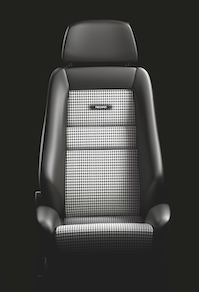 Interior / Safety - Racing Seats - Recaro  - Recaro Classic LX - Black Leather/Pepita Fabric