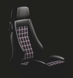Interior / Safety - Racing Seats - Recaro  - Recaro Classic LX - Black Leather/Classic Checkered Fabric