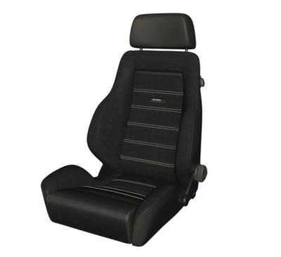 Interior / Safety - Racing Seats - Recaro  - Recaro Classic LS - Black Leather/Corduory Fabric