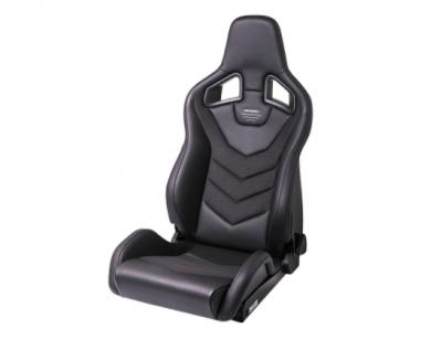 Interior / Safety - Racing Seats - Recaro  - RECARO SPORTSTER GT WITH SUB-HOLE (LEFT SIDE) - NARDO BLACK SILVER