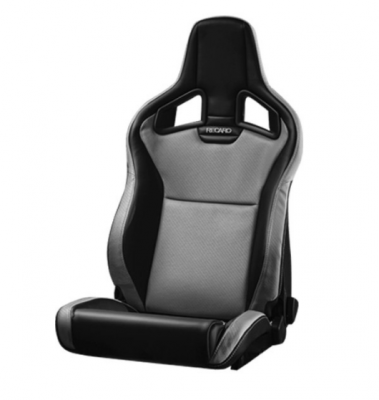 Interior / Safety - Racing Seats - Recaro  - CROSS SPORTSTER ORV 3 POINT (LEFT SIDE) - VINYL BLACK, VINYL GRAY