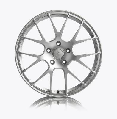 Porsche - Boxster/Cayman  - Titan7 - Titan7 T-S7 FORGED 7 SPOKE WHEEL 19X10 +35 (5x130) - REAR, IRIDIUM SILVER