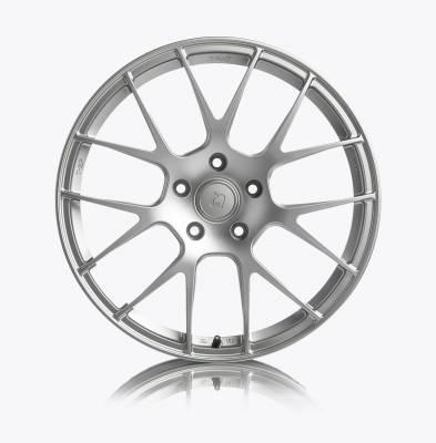 Porsche - Boxster/Cayman  - Titan7 - Titan7 T-S7 FORGED 7 SPOKE WHEEL 20X9 +44 (5x130) - SQUARE, IRIDIUM SILVER