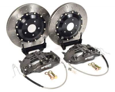 AP Racing - AP Racing by Essex Radi-CAL Competition Brake Kit (Front 9668/372mm)- F87 M2 & M2 Competition, F80 M3, F82 M4