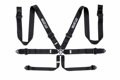 "Safety Harness - Hans Compatible   - Sparco  - Sparco 6 PT 3"" ALUMINUM"