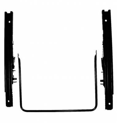 Recaro  - Recaro Seat Sliders - Outside Bar, No Tabs (Universal)