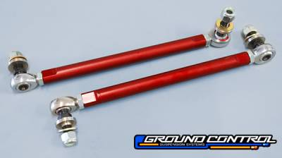 Ground Control  - Ground Control BMW Front Sway Bar End Link, Adjustable (Pair)