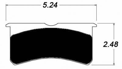 Raybestos ST-43 R701.16 Brake Pads