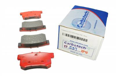 Carbotech Performance Brakes, CT537-XP10 *custom 12.5mm thickness for Urge rear rotors*