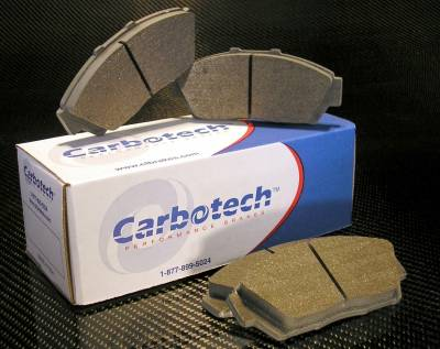 Brake Pads - Autocross Pads - Carbotech Performance Brakes - Carbotech Performance Brakes, CT1076-AX6