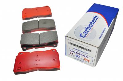 Brake Pads - Racing / Track Day Pads - Carbotech Performance Brakes - Carbotech Performance Brakes, CT1001-XP10 Brembo Caliper, STi, Corvette C7 Front Brake Pads