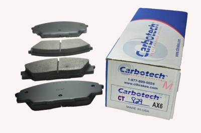 Carbotech Performance Brakes - Carbotech Performance Brakes, CT829-AX6