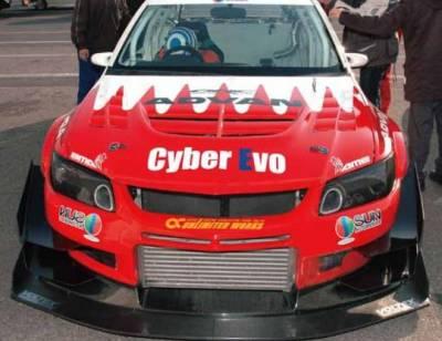 Voltex - Voltex EVO CT9A Front Bumper- Cyber Edition