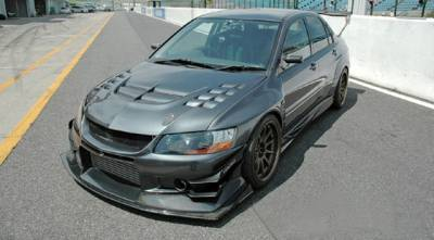 Aerodynamics - Bumpers/Lips - Voltex - Voltex EVO CT9A Front Bumper Cyber Street