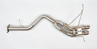 Featured Vehicles - BMW - Berk Technology  - Berk 135i Axle-Back Race Exhaust (BT1801-S)
